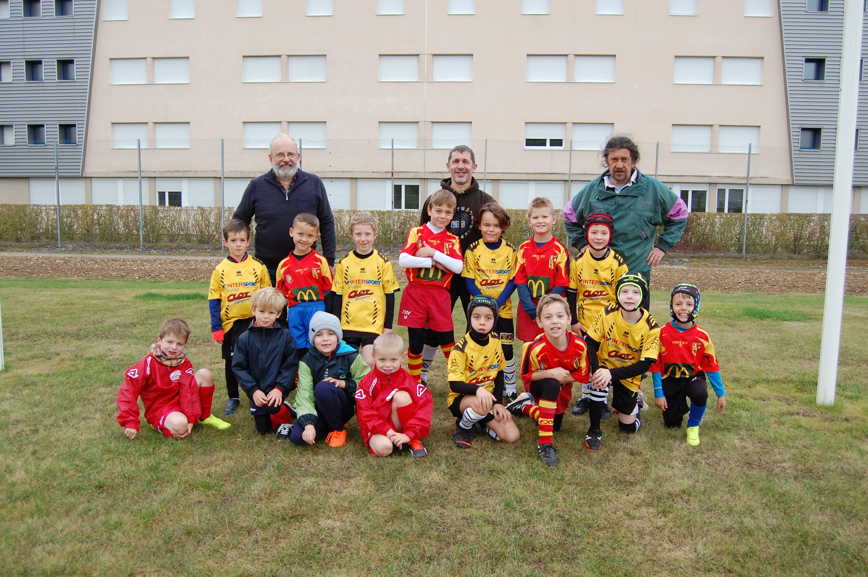 Ecole de rugby – Atelier 2