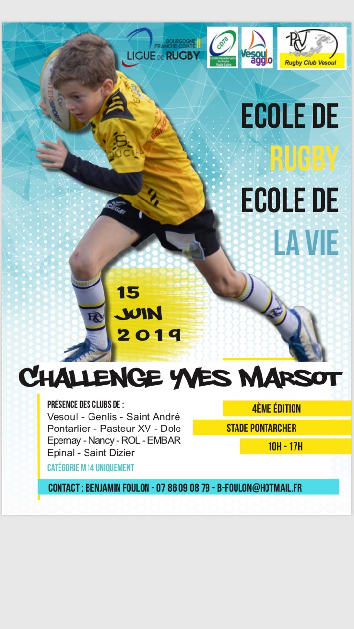 Challenge Marsot – samedi 15 juin